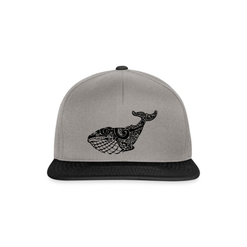 The Blue Whale - Snapback Cap