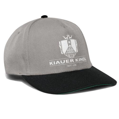 Kiauer Kindl - weiss - Snapback Cap