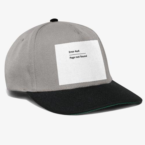 Error 4o4 - Snapback-caps