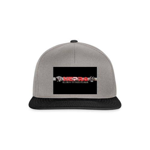 hepro logo - Snapback Cap