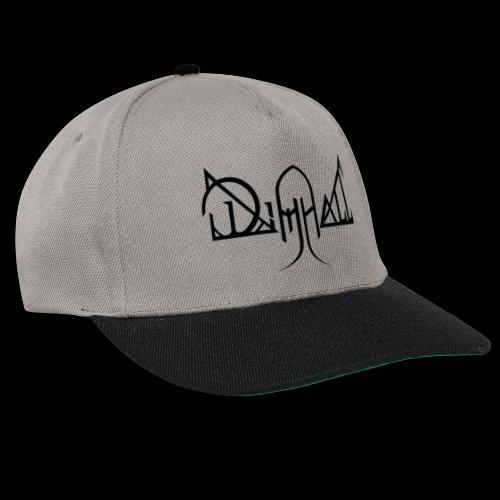 Dimhall Black - Snapback Cap