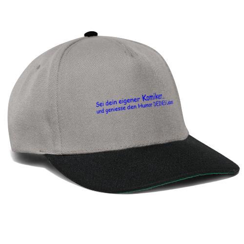 Komiker blau - Snapback Cap