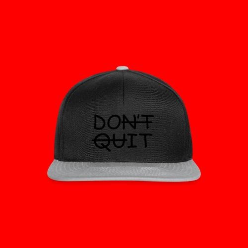 Don't Quit, Do It - Snapback Cap
