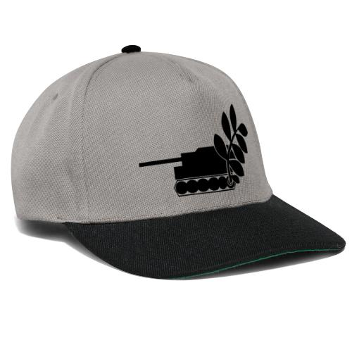 Global Campaign on Military Spending - Logo gray - Snapback Cap