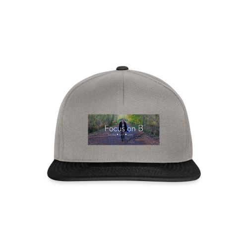 focus on b - Snapback Cap