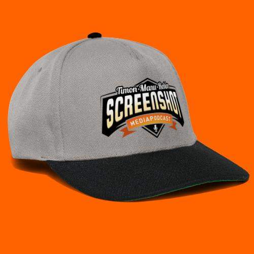 Screenshot-Podcast Logo - Snapback Cap