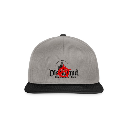 Anarchy ain't on sale(Dismaland unofficial gadget) - Snapback Cap