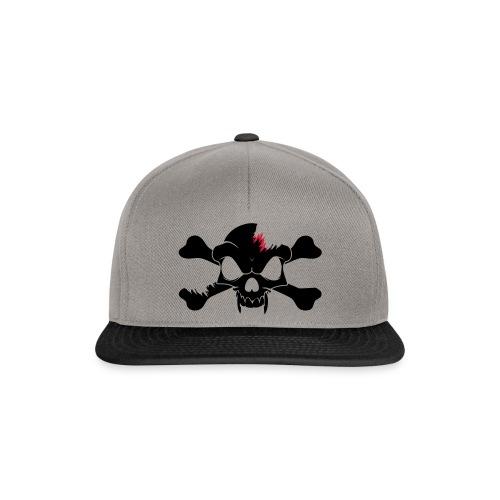 SKULL N CROSS BONES.svg - Snapback Cap