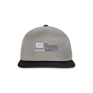 i m a programmer in the make - Snapback cap