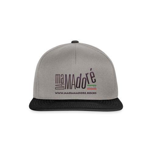 T-Shirt - Donna - Logo Standard + Sito - Snapback Cap