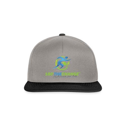 180TC Logo Hochformat - Snapback Cap