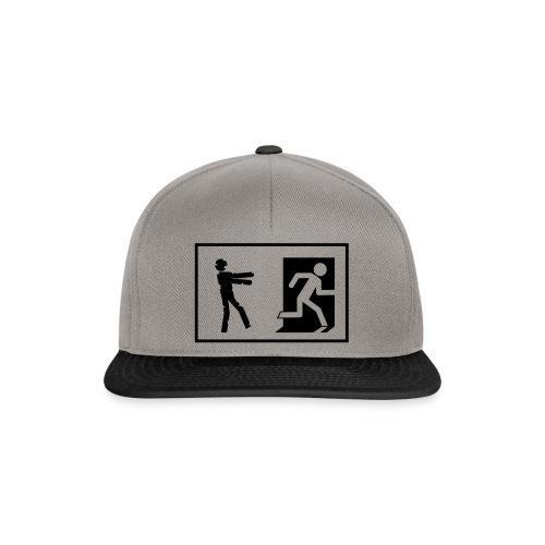 Zombie Invasion Notausgang - Snapback Cap