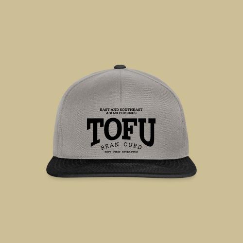Tofu (black) - Snapback Cap