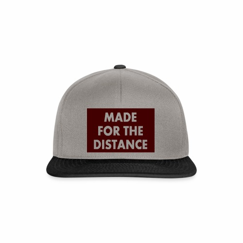 MADE FOR THE DISTANCE - Snapback Cap