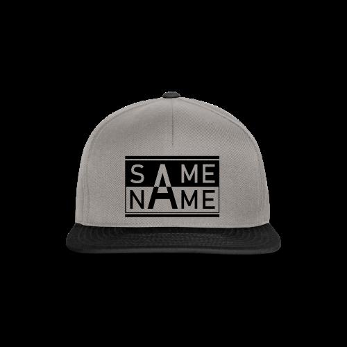 Same Name Same Design - Snapback Cap