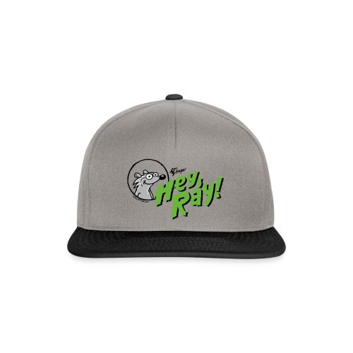 Hey Ray Logo green - Snapback Cap