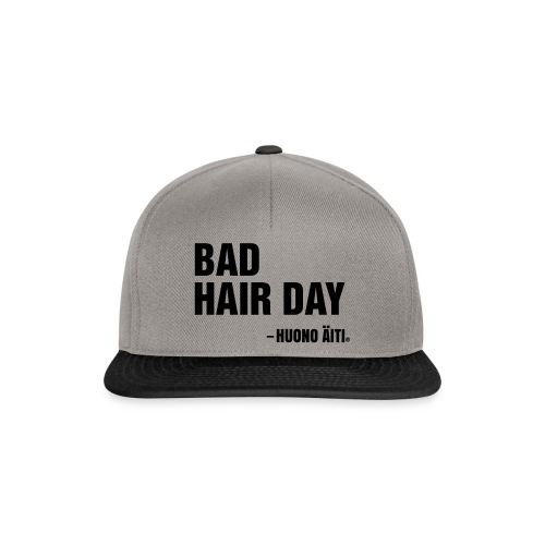 Bad Hair Day - Snapback Cap