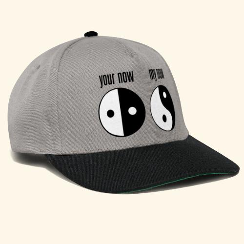 your now my now Yin Yang - Snapback Cap