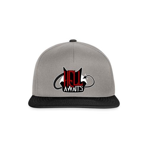 Hell Awaits -clean - Snapback cap