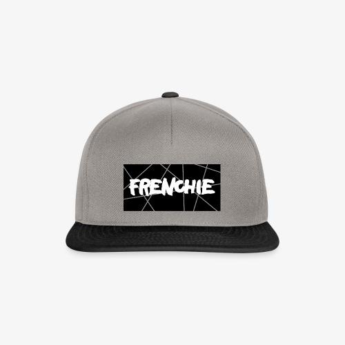 Frenchie Black & White - Snapback Cap