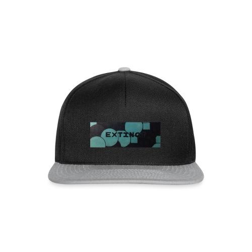 Extinct box logo - Snapback Cap