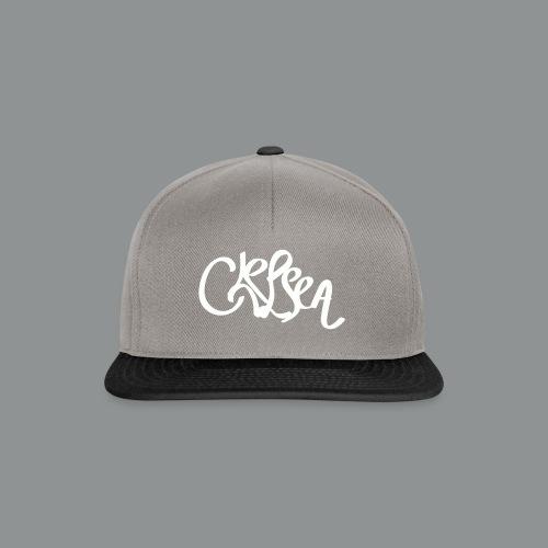 Mannen Shirt (Rug) - Snapback cap
