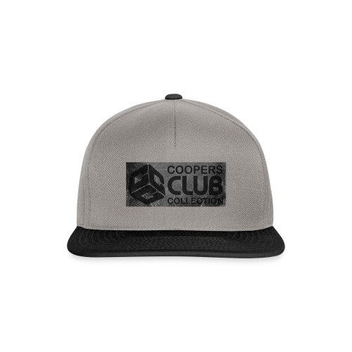 Coopers Club Collection distressed logo - Snapback Cap