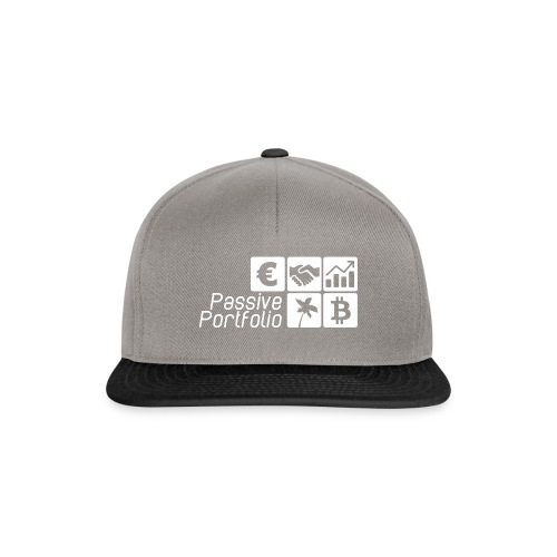 Logo Passive Portfolio ohne rahmen passives Eink - Snapback Cap