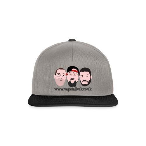 vtukfaces png - Snapback Cap