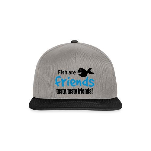 Fisk er venner - Snapback-caps