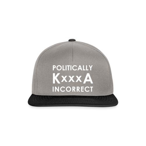 POLITICALLY KxxxA INCORRECT - Czapka typu snapback