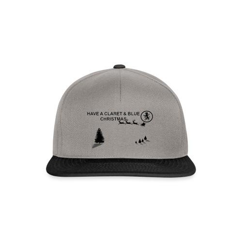 Claret and Blue Xmas - Snapback Cap