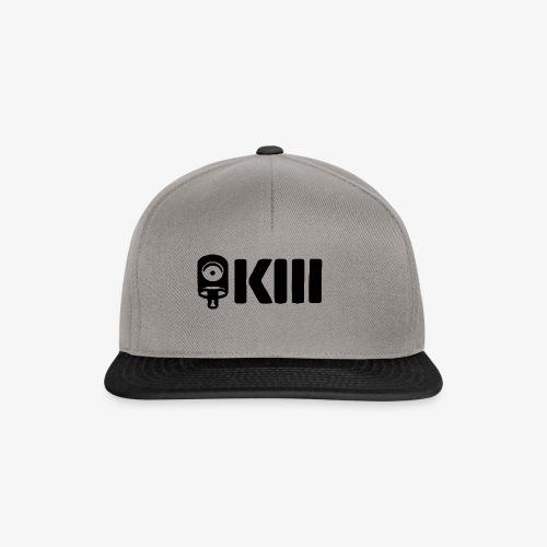 KII black logo - Gorra Snapback