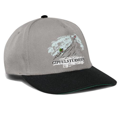 Gipfelstürmerin - Snapback Cap