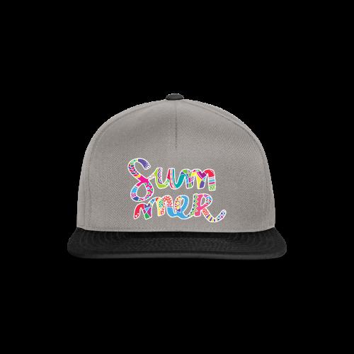 INANI Napis SUMMER 01 WHITE 02 - Snapback Cap