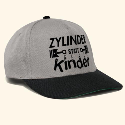 Zylinder Statt Kinder - Snapback Cap