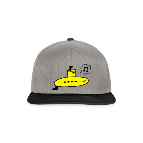 Singing Yellow Submarine - Snapback Cap