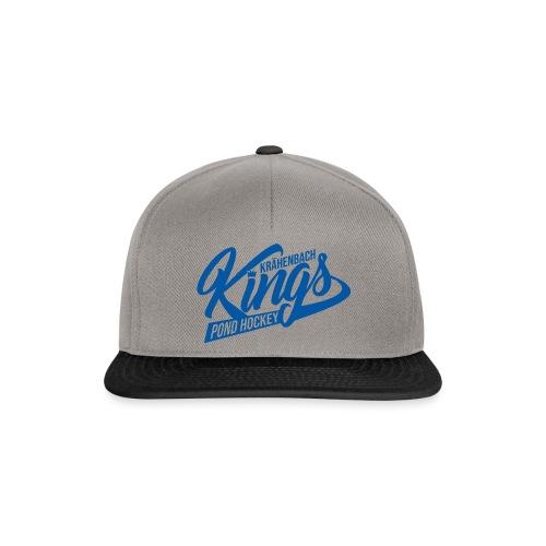KINGS Logo 2019 einfach blue - Snapback Cap
