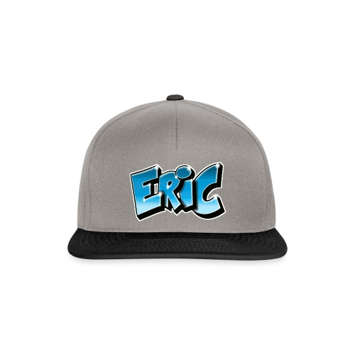 ERIC GRAFFITI TAG PRINTABLE BY MAX LE TAGUEUR - Casquette snapback