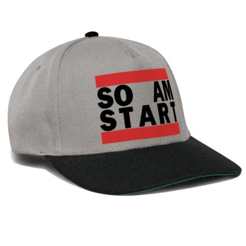 so am Start schwarz - Snapback Cap