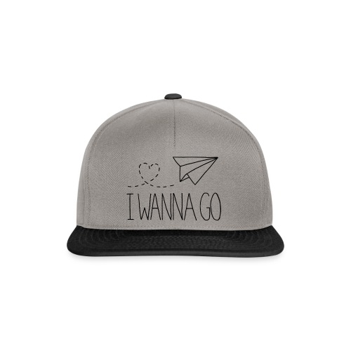 I Wanna Go - Snapback Cap