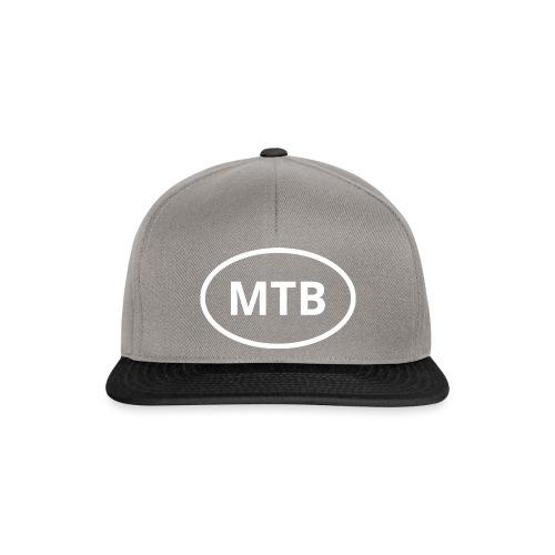 MTB | Mountain Bike Oval Logo - Snapback Cap