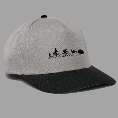 Bicycle evolution black - Snapback Cap