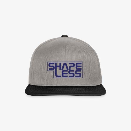 SHAPELESS LOGO blue - Snapback Cap
