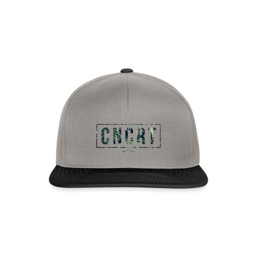 CNCRT white men sweater (Plant Print) - Snapback cap