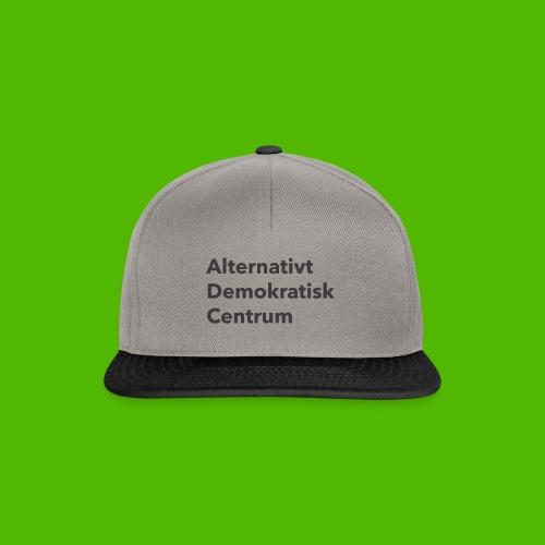 Gråt Navn - Snapback Cap