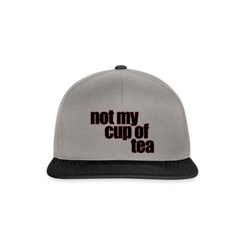 Perfect for the coffee cup - Snapback-caps
