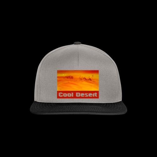 Cool Desert Sahara Motiv - Snapback Cap