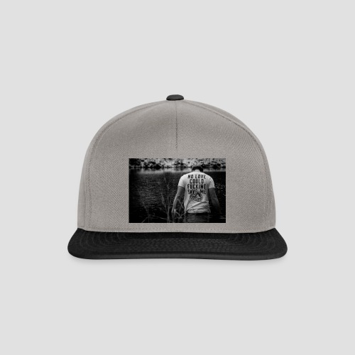 No love could save me - Snapback Cap
