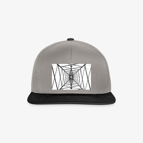 Quermast WhiteBG - Snapback Cap